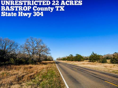 22 Acres In Bastrop County : Rosanky : Bastrop County : Texas