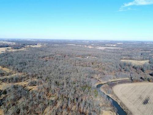 Creek Frontage Property St Clair : Rockville : Saint Clair County : Missouri
