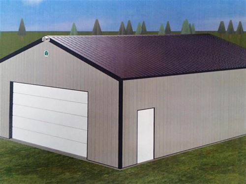 Land Waupaca Wi, New Storage Shed : Waupaca : Wisconsin
