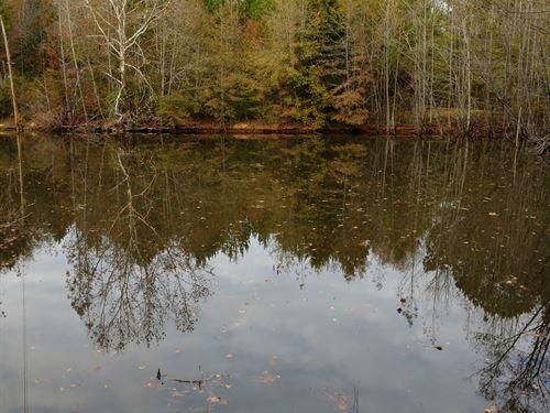 20 Ac Pond, Barn, Deep Well : Barnesville : Lamar County : Georgia