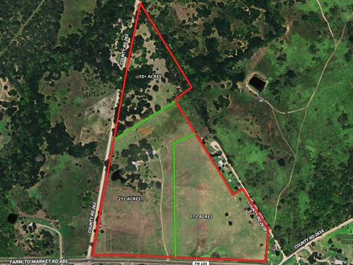 Milam County Land Estate Auction : Cameron : Milam County : Texas