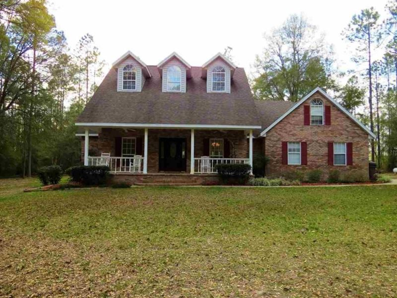 Gorgeous 4/3.5 Country Home 5 : Lake Butler : Union County : Florida