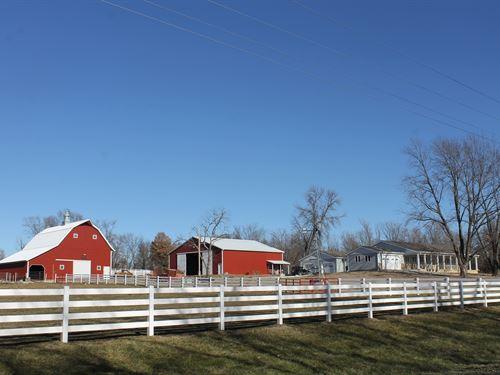 Cameron MO 16 Acres & New 4000 Sq : Cameron : Caldwell County : Missouri
