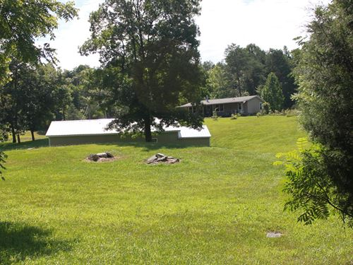 Country Home, Blueberry Farm : Munfordville : Hart County : Kentucky