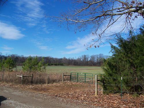 Indian Creek Land Creek Row Crop : Savannah : Hardin County : Tennessee