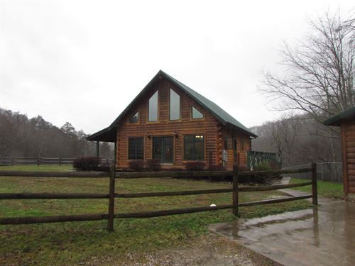 Wv Log Home & 10 Acres : Auburn : Ritchie County : West Virginia