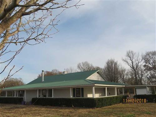 Secluded Ranch Home With Acreage : Garvin : McCurtain County : Oklahoma