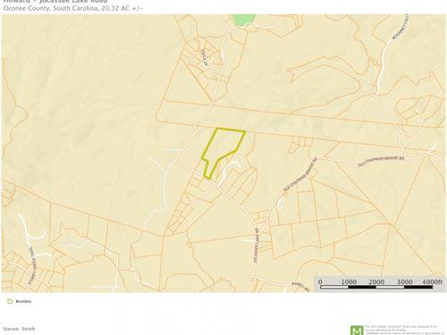20.23 Acres, Wooded Acreage : Salem : Oconee County : South Carolina