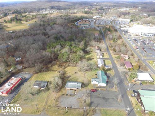 8 Commercial Acres in Blacksburg ad : Blacksburg : Montgomery County : Virginia