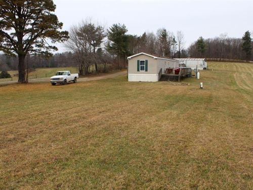 5.07 Acres 2 Singlewides Patrick : Meadows Of Dan : Patrick County : Virginia