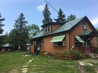 Waterfront Home Rental Cabins Maine : Silver Ridge : Aroostook County : Maine