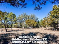 4.2 Acres In Bandera County : Bandera : Bandera County : Texas
