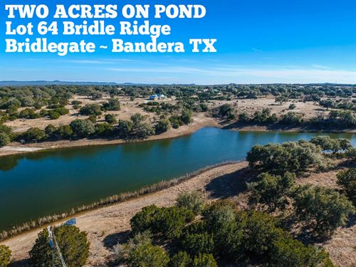 2.08 Acres In Bandera County : Bandera : Texas