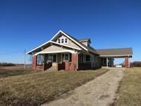 Country Home & Acreage NW Missouri : Bethany : Harrison County : Missouri