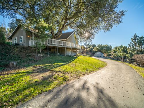 Mesa Grande Home : Santa Ysabel : San Diego County : California