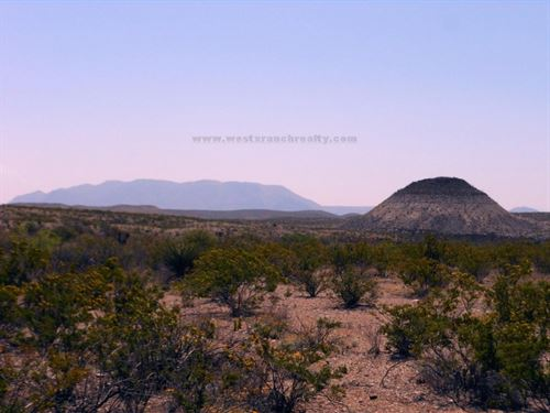 Very Nice High Desert Property : Terlingua : Brewster County : Texas
