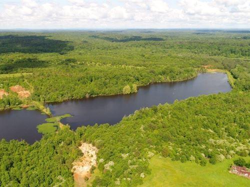569.4 AC Timberland, Lake : Danville : Morgan County : Alabama