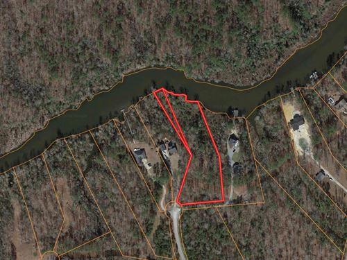 Waterfront Lot Beaufort County NC : Chocowinity : Beaufort County : North Carolina
