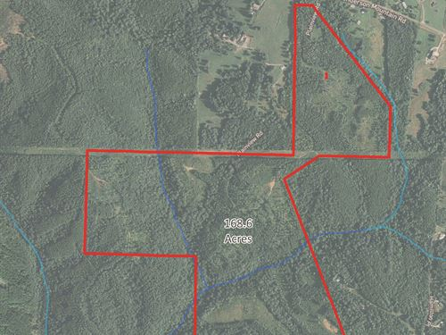 168 Acres, Moores Gin Rd,, 9693 : Fairmount : Pickens County : Georgia