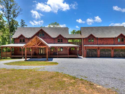 Custom Built Home On 8.41 Acres : Rockmart : Polk County : Georgia