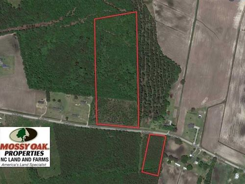 Under Contract, 17.94 Acres of Re : Dover : Craven County : North Carolina