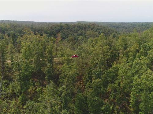 8 Acres Near Jacks Fork River : Eminence : Shannon County : Missouri