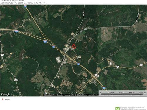 3.9 Acres Commerce Ave, Clinton : Clinton : Laurens County : South Carolina