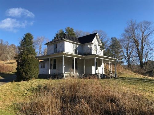 Floyd VA Farmhouse For Sale : Copper Hill : Floyd County : Virginia
