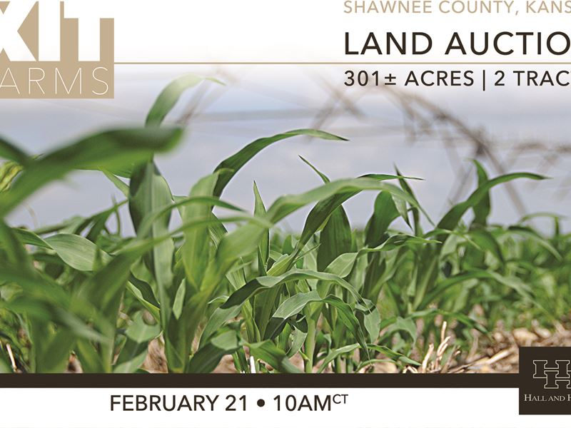 Xit Farms Land Auction : Rossville : Shawnee County : Kansas