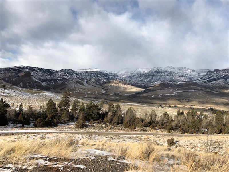 Mountain Paradise A Few Miles From : Cody : Park County : Wyoming