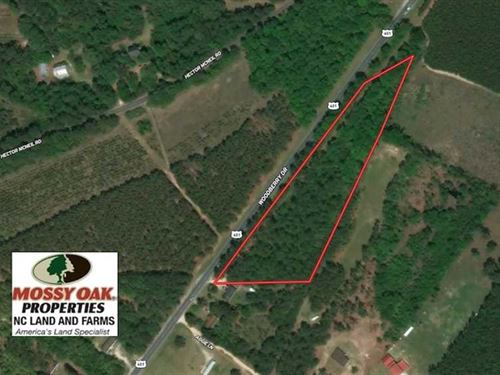 Under Contract, 5 Acres of Reside : Raeford : Hoke County : North Carolina