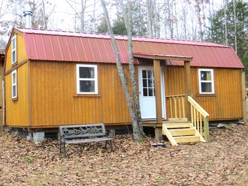 Cabin With Acreage in The Ozarks : Thayer : Oregon County : Missouri
