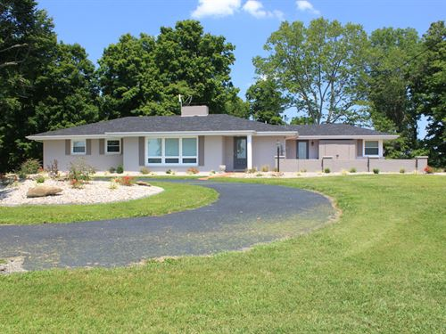 Luxury Ranch Home, Basement, Open : Campbellsville : Taylor County : Kentucky