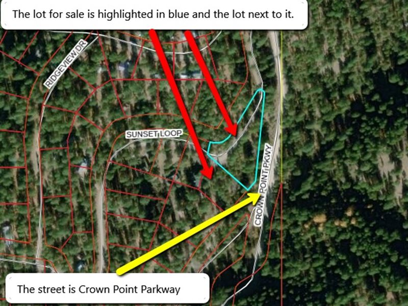 Two Vacant Lots For $24,500 : Cascade : Valley County : Idaho