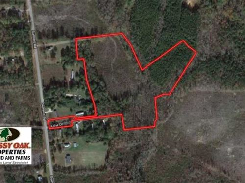 14 Acres of Recreational Huntin : Littleton : Halifax County : North Carolina