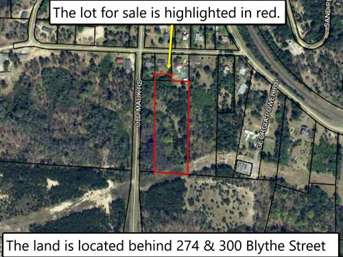 4 Acre Property Is Being Sold : Junction City : Talbot County : Georgia