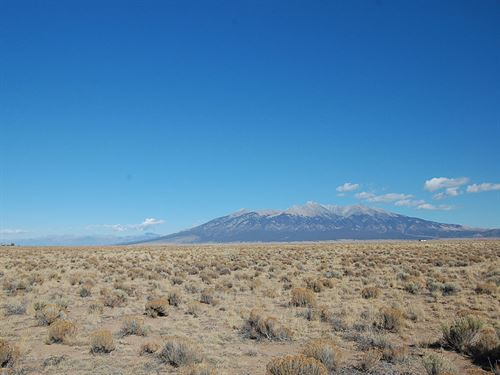 4+ Acre Lot East Of Alamosa : Blanca : Costilla County : Colorado