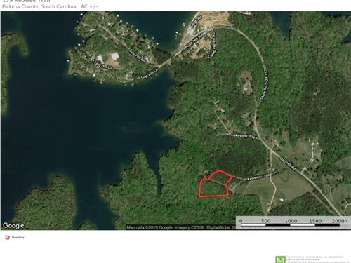4 Acre Residential Lot Near Lake Ke : Six Mile : Pickens County : South Carolina