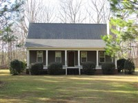 Cabin With 150 Acres in Terrell CO : Dawson : Terrell County : Georgia