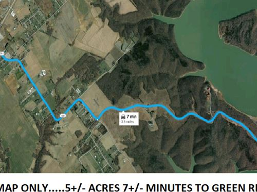 Prime Location, 5 Acres Minutes To : Campbellsville : Taylor County : Kentucky