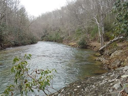 Wonderful Riverfront Lot Great : Sparta : Alleghany County : North Carolina