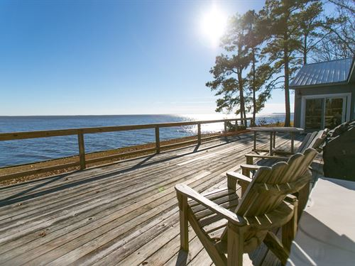 Waterfront Home Albemarle Sound : Hertford : Perquimans County : North Carolina