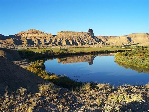 Utah Farm Land Has Hemp Farm : Green River : Emery County : Utah