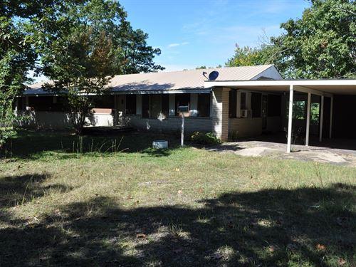 Foreclosed Country Home Acreage : Dennard : Van Buren County : Arkansas