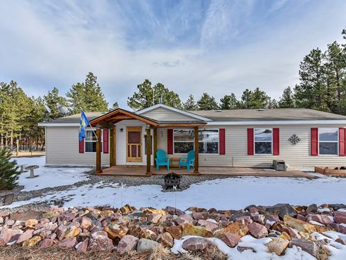 Mountain Home Florissant Colorado : Florissant : Teller County : Colorado
