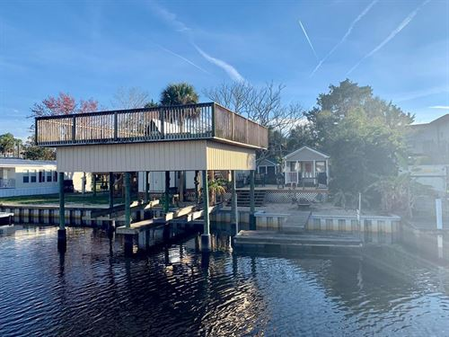 Waterfront Home Suwannee Florida : Suwannee : Dixie County : Florida