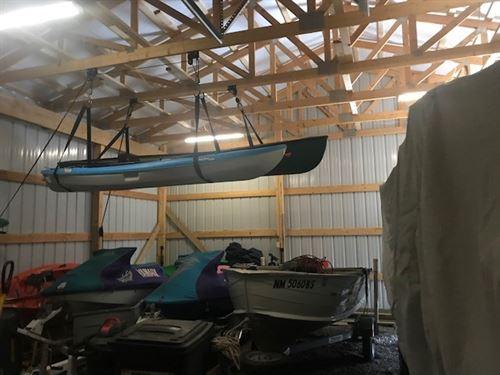 Great Home Along El Vado Lake Move : El Vado : Rio Arriba County : New Mexico