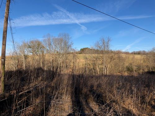 1.5 Acres Cherokee Lake East TN : Rutledge : Grainger County : Tennessee