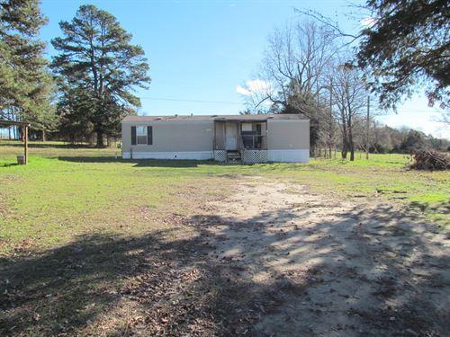 5 East Texas Acres + Home : Winnsboro : Wood County : Texas