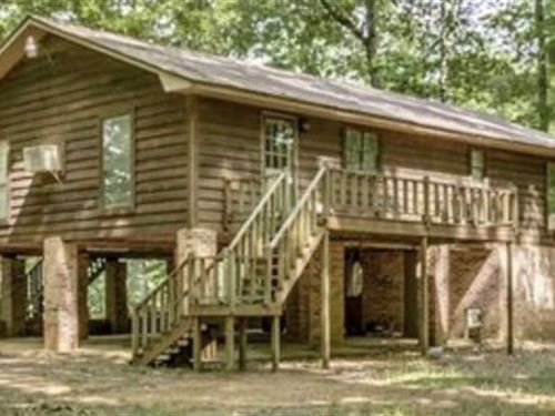 Two Rivers Waterfront Cabin : Aliceville : Greene County : Alabama